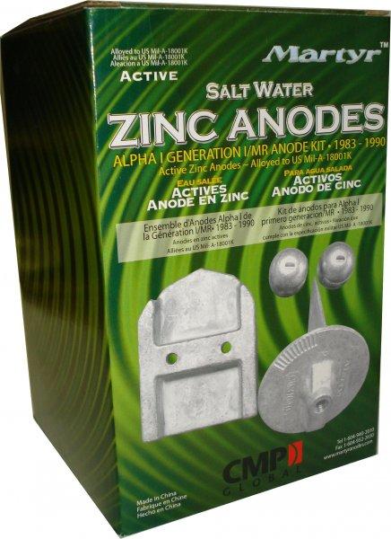 Anoden KIT Mercruiser Zink Alpha One Gen 1