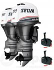 Selva Aussenborder 2x Killer Whale 150EFI-16V ( Twin Counter Rotating / Offshore Series )