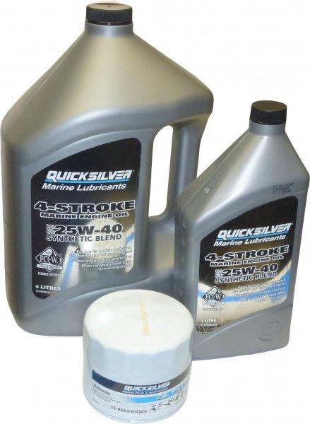 MerCruiser Motoröl Set synthetisch